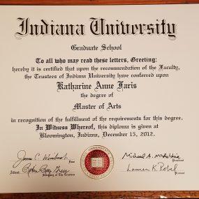 Master's Diploma!!